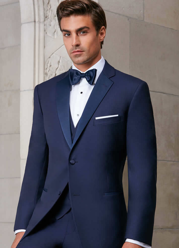Ike Behar Evening Navy Sebastian Tuxedo