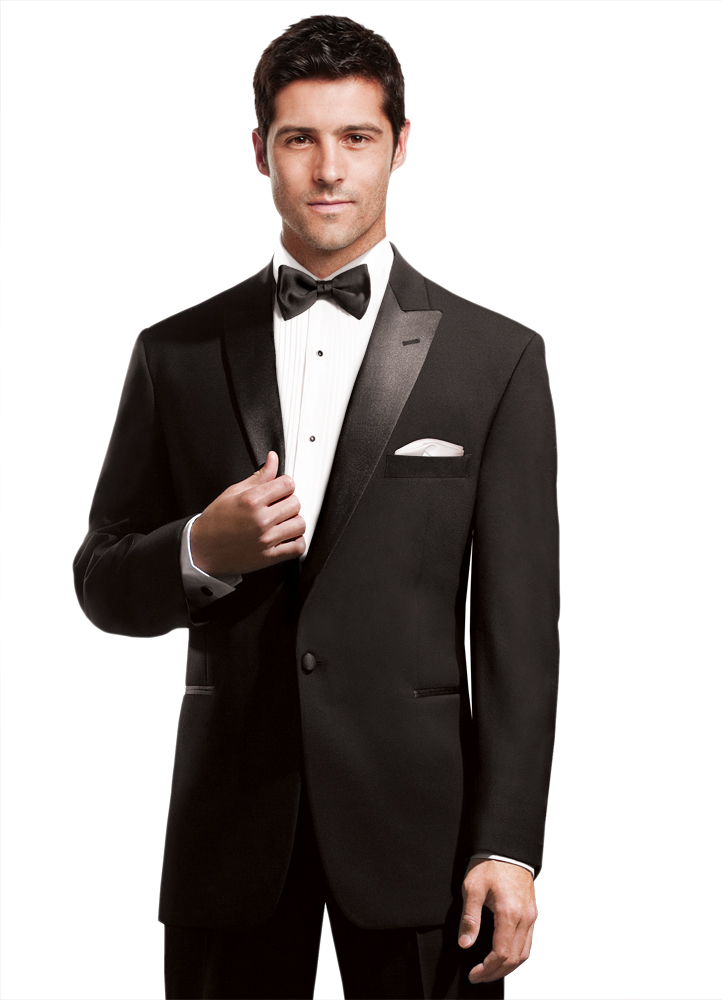 Any Tux 45 Bucks Peak Lapel Tuxedo